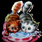 Конспект НОД по ОБЖ (сказка на фланелеграфе) с детьми 1 мл. гр. «Непослушные котята»