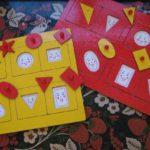 Как научить детей играть в «Рамки и вкладыши М.Монтессори»