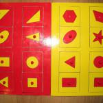 Как разнообразить игры с «Рамками и вкладышами М.Монтессори»