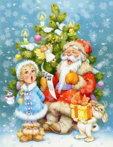 Новогодние песенки для детей